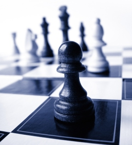 single chess piece